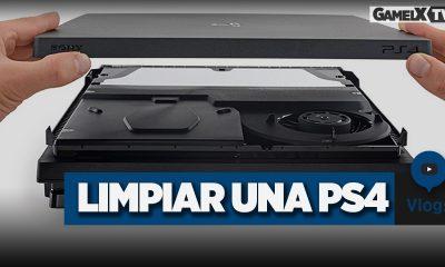 Cómo limpiar una PS4