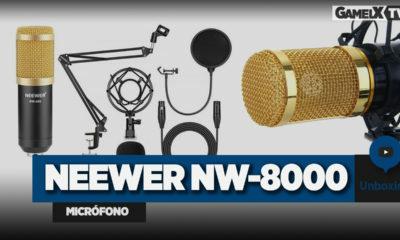 Unboxing micrófono Neewer