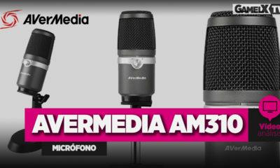 Análisis micrófono Avermedia AM310